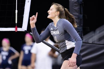 Four Mavs named to All-Summit League volleyball first team