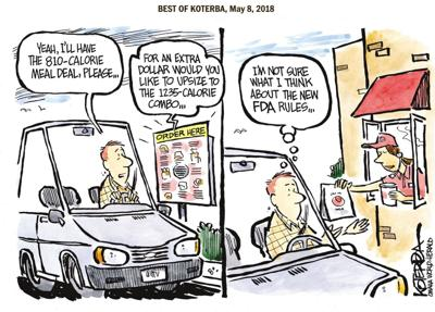 The best of Jeff Koterba's cartoons: Too much information