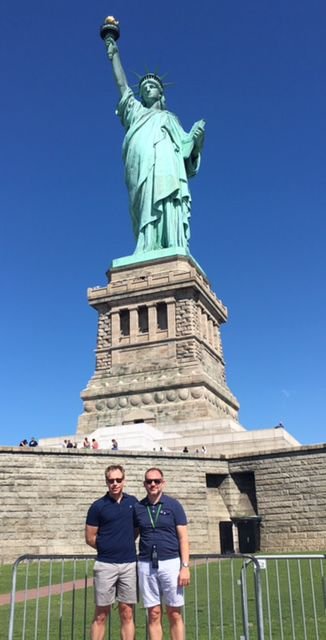 Why A Gay Dads Trip To The Statue Of Liberty Took On New Meaning In