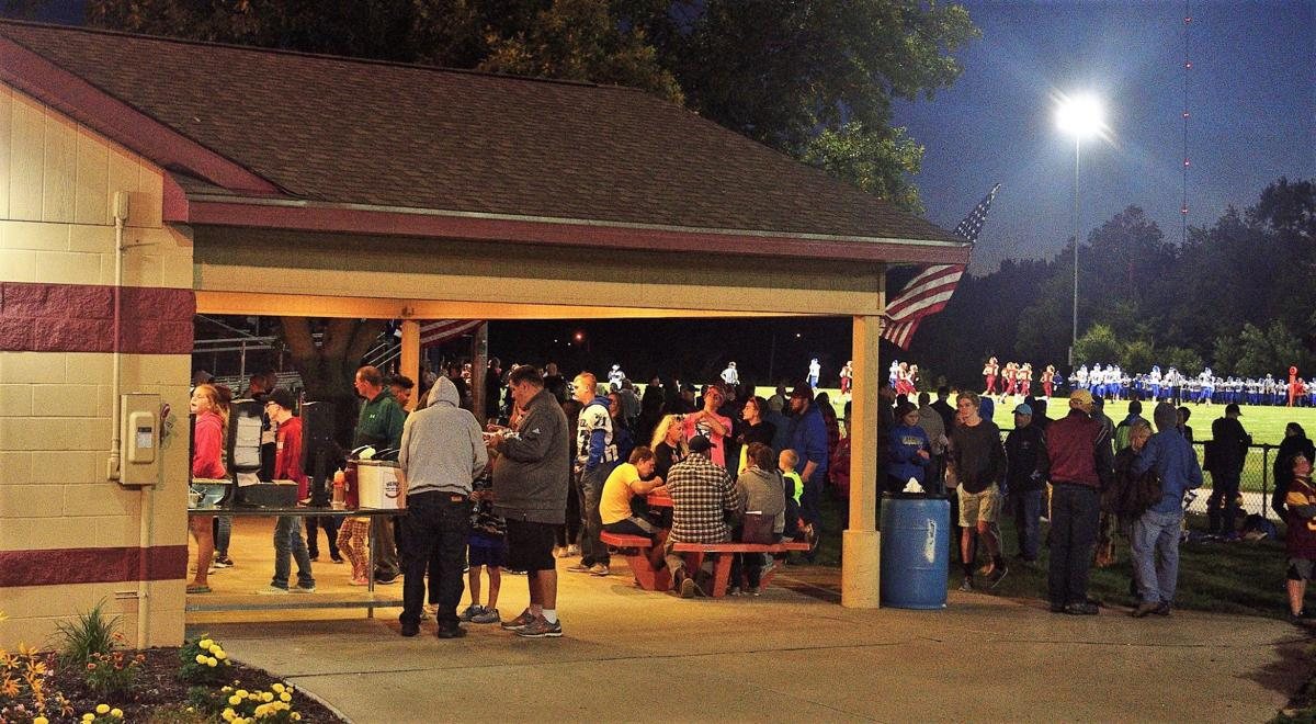 Game night at the Roncalli Catholic High School concession stand
