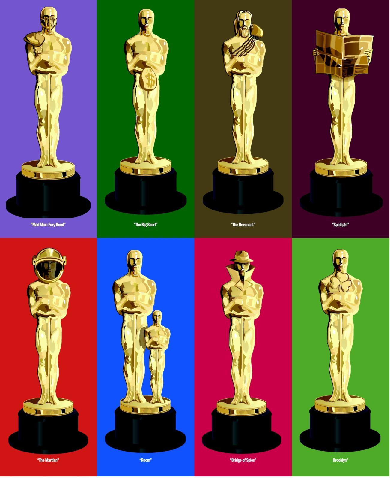 AND THE OSCAR GOES TO ... [IT'S ANYBODY'S GUESS]