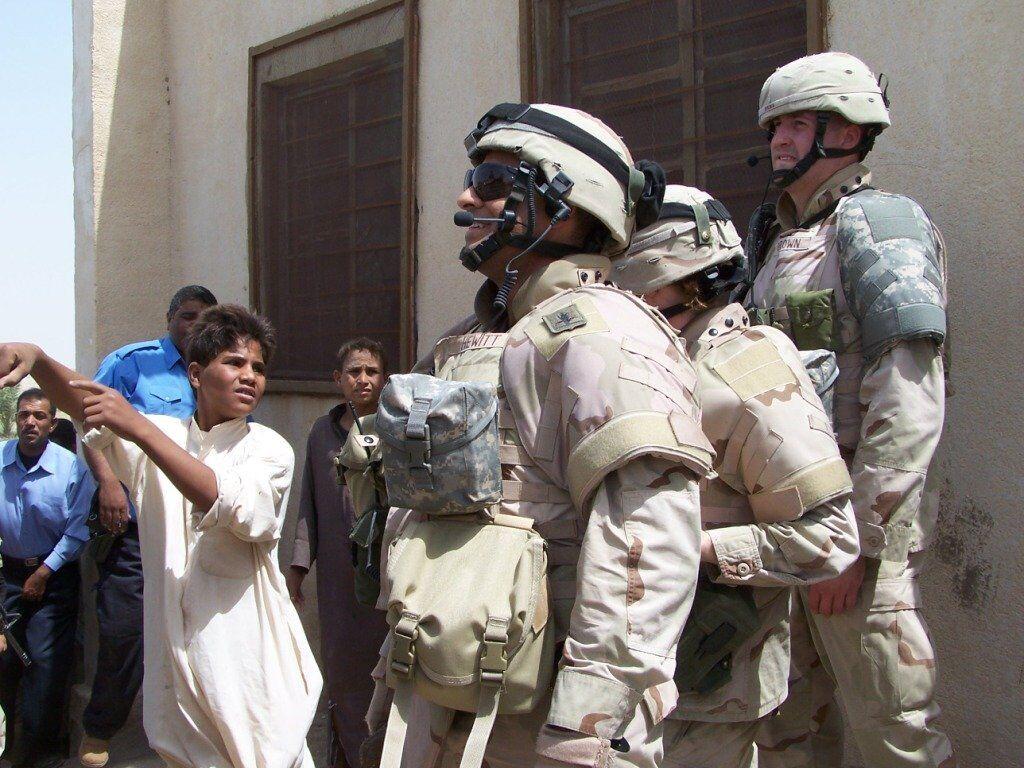 1st Lt. Russ Hewitt in Iraq, 2006