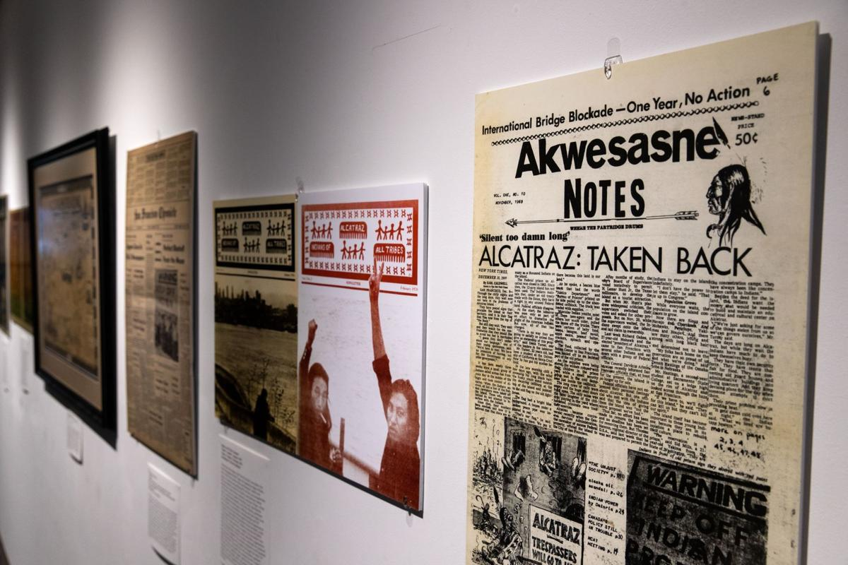 Native American occupation of Alcatraz remembered in UNO exhibit
