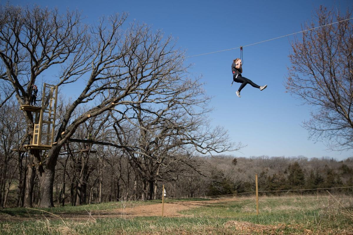 Zip Line Course Opens At Mahoney State Park This Weekend