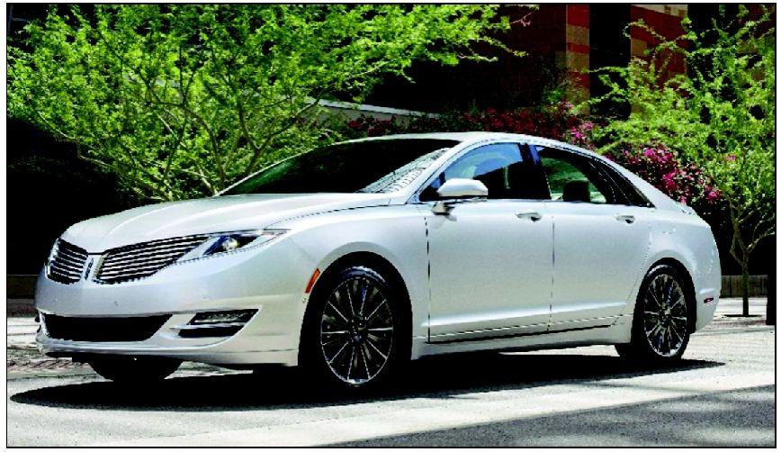 Top Luxury Sedan In Gas Mileage Is A Lincoln Mkz