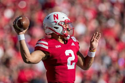 Big Ten media days: Scott Frost praises Adrian Martinez. 'I wouldn't trade our guy for anybody'