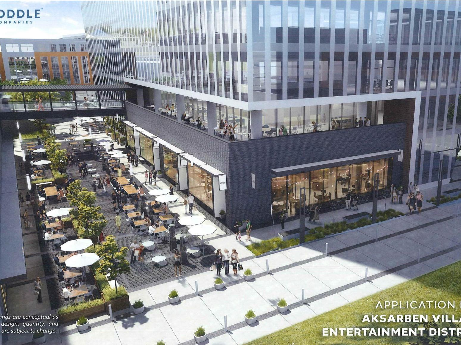 You could soon carry a drink around Aksarben Village. 'Entertainment district' pitched for HDR area