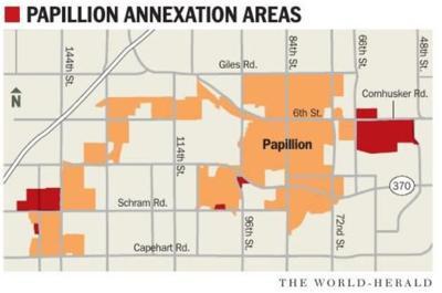 Papillion annexation