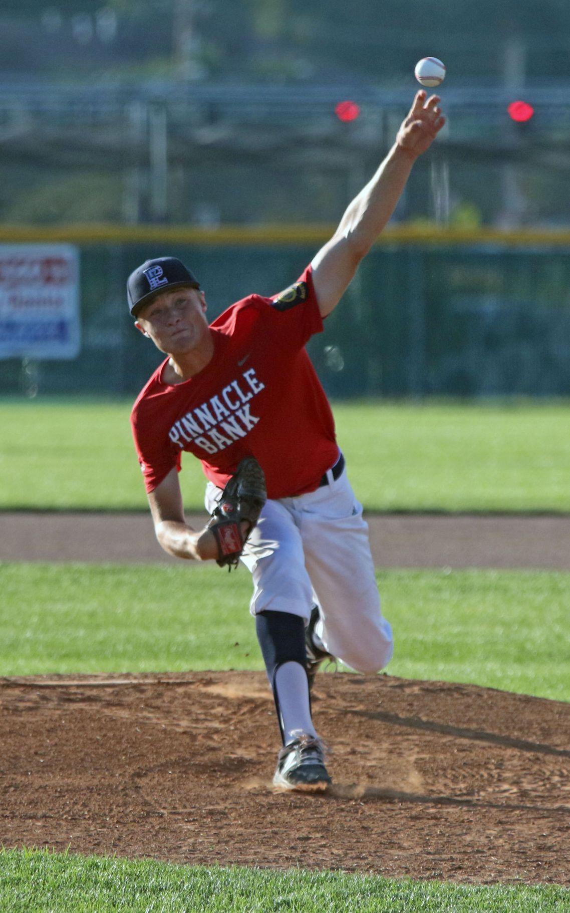papillion la vista pitcher caleb feekin commits to nebraska
