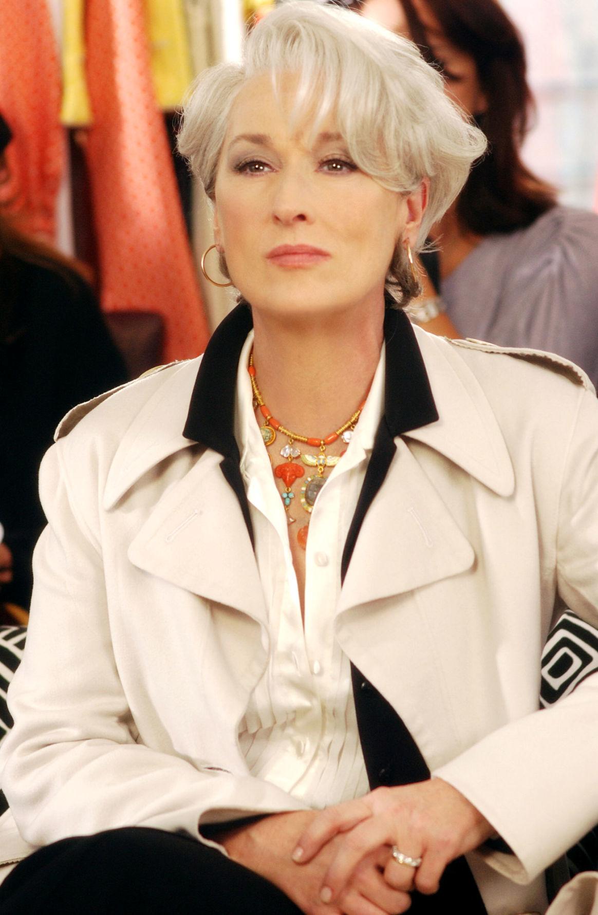 Fashion Faces Of Meryl Streep