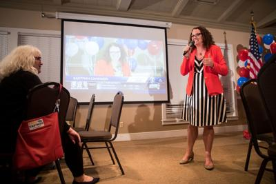 Kara Eastman - election night
