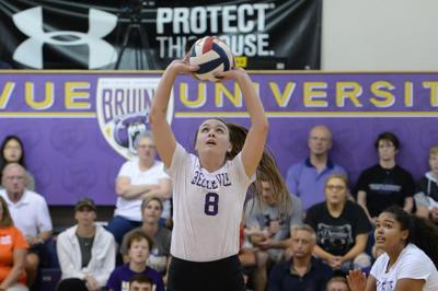 Young Bruin volleyball team shows resiliency in weekend sweep