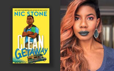 """Nic Stone is the author of """"Clean Getaway,"""" a middle-grade novel."""