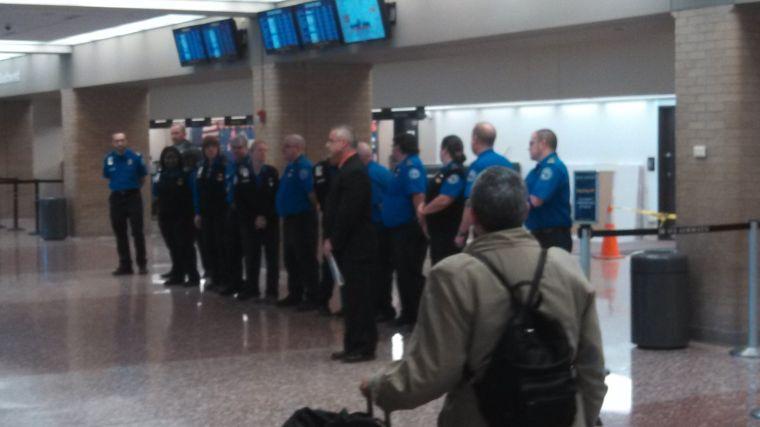 Eppley joins national moment of silence to honor slain TSA officer