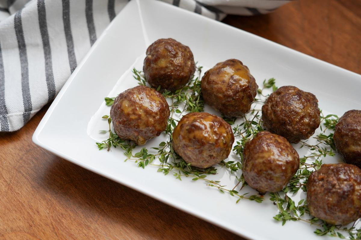 Sweet Sour Meatballs 2