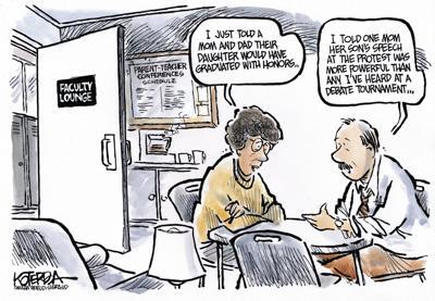 Jeff Koterba S Cartoon The New Normal Opinion Omaha Com
