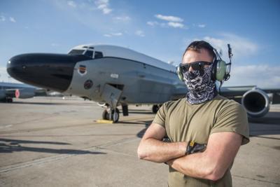 Senior Airman Michael Dean by Tech Sgt William O'Brien (copy)