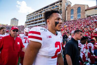 Husker QB Adrian Martinez is working to keep teammates upbeat. 'No pointing fingers with him'