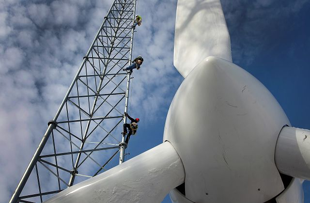 Tax credit extension allows planned wind projects to proceed