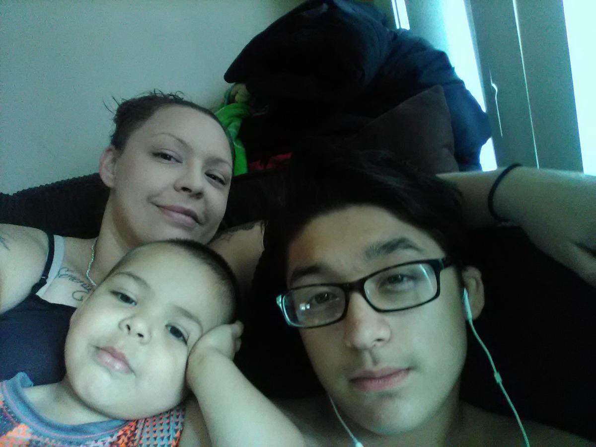 Erica Brown-Zamudio and kids