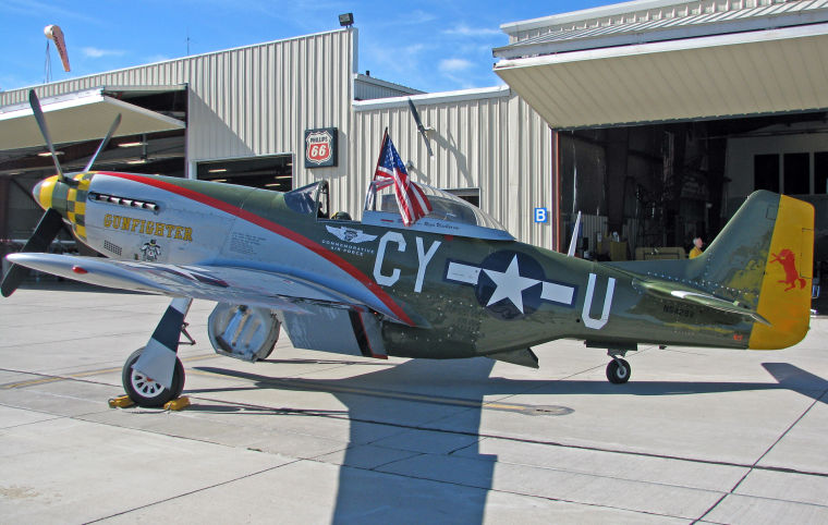 Aircraft stirs memories for a former tailgunner