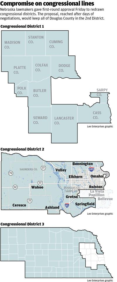 Nebraska redistricting maps
