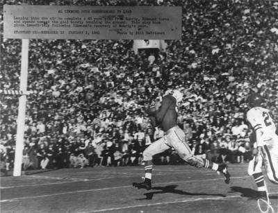 1941 Rose Bowl.Al Zikmund