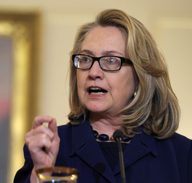 Clinton says department moving fast to stengthen U.S. security