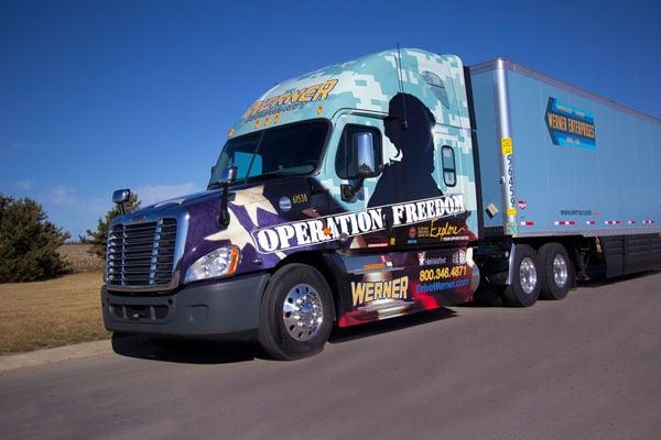 Trucks Plus Omaha >> High demand, cheap fuel boost profits at Werner Enterprises | Money | omaha.com