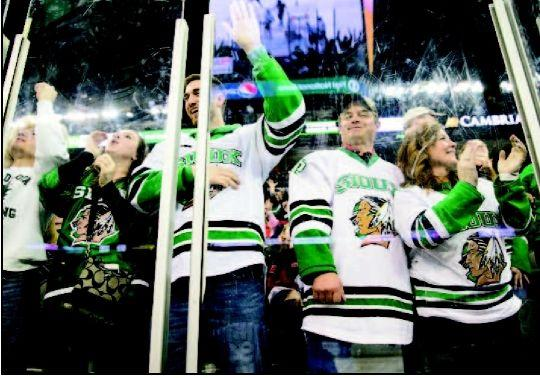UNO is ripe for rivalry with North Dakota green