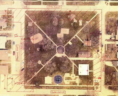 Washington Park layout