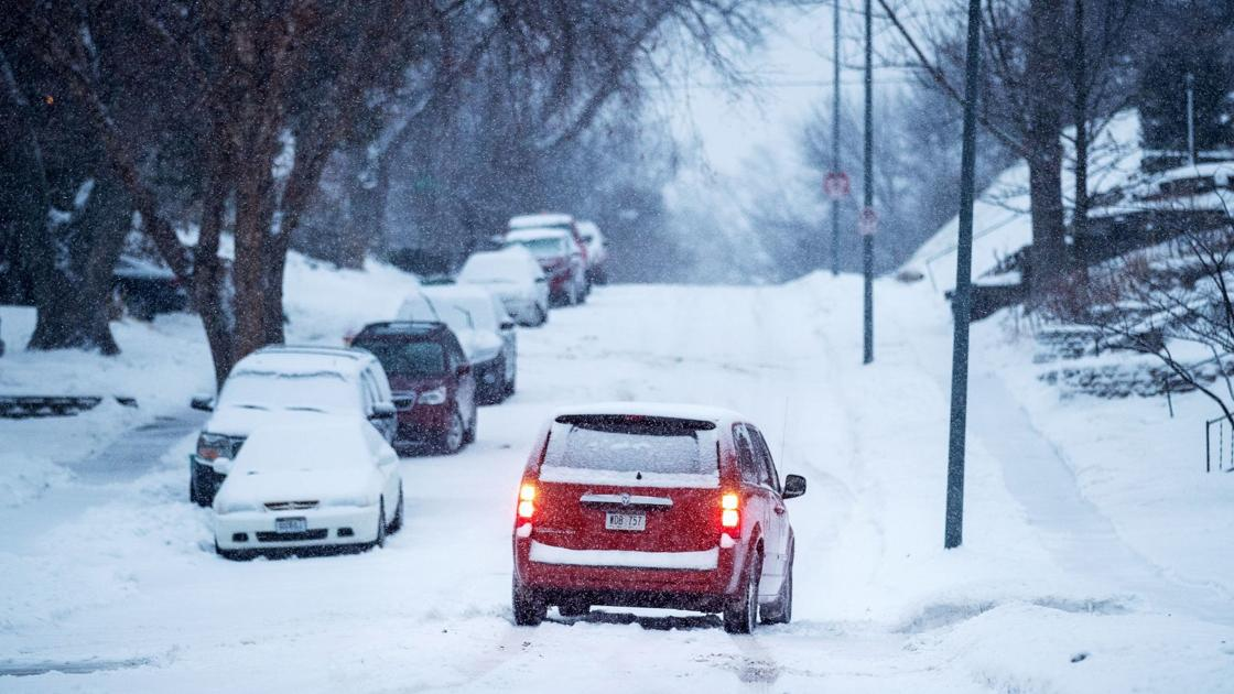 Complaints pile up when snow falls on top of ice on Omaha side streets