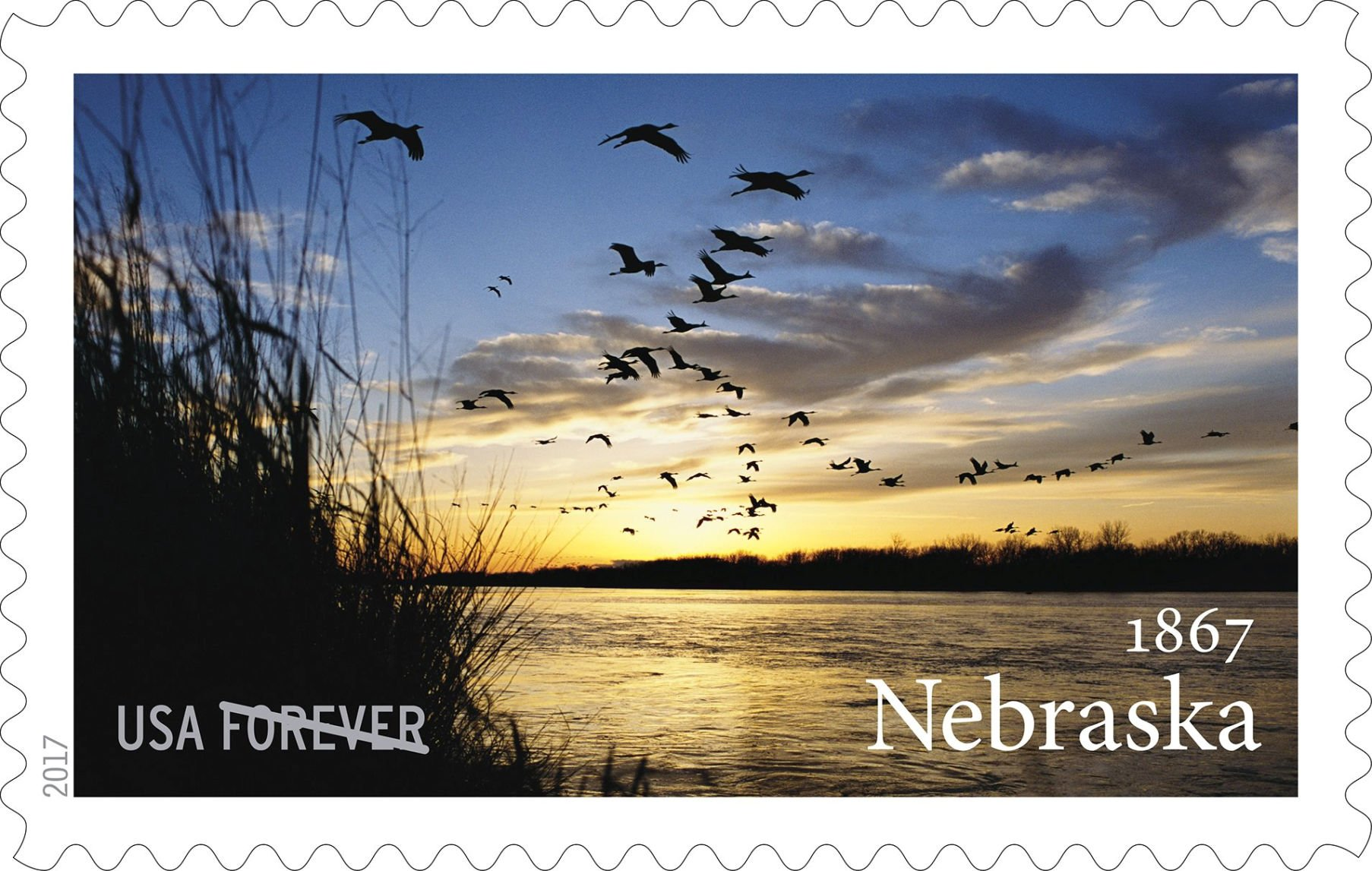 Postal Service introduces Nebraska statehood u0027foreveru0027 stamp