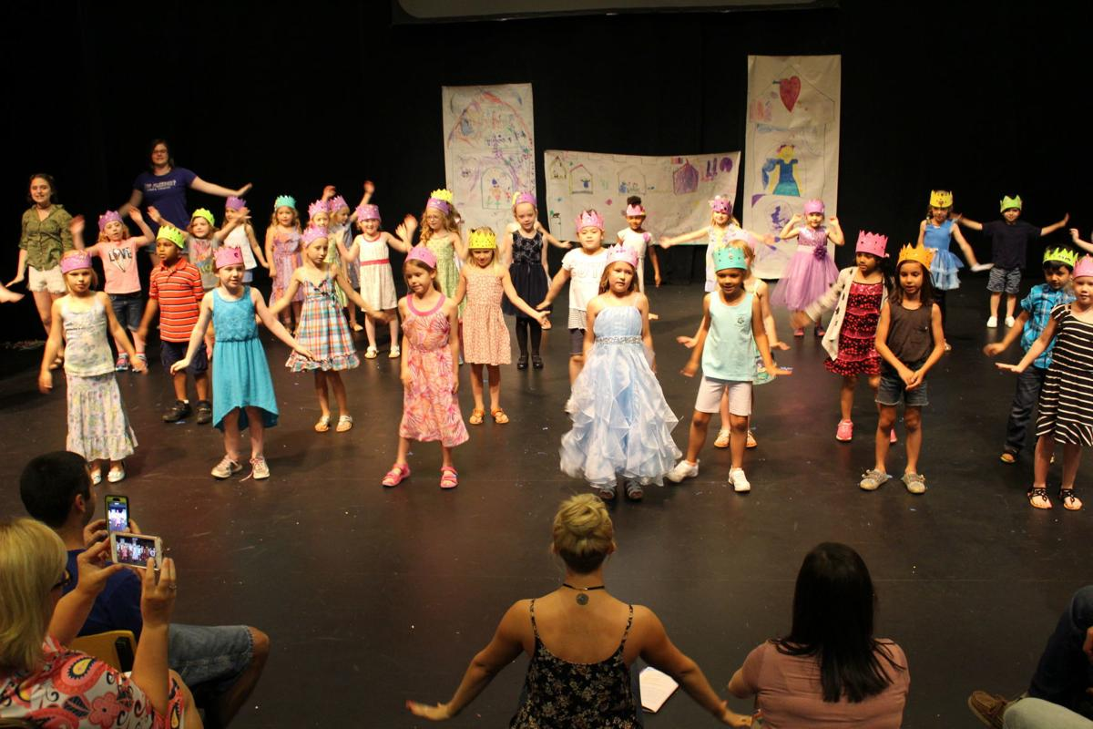 The Rose Feb 2020 Issue- The Rose's Cinderella Camp practices for their performance.jpg