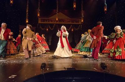 The Christmas Carol.Perennial Favorite A Christmas Carol To Open At
