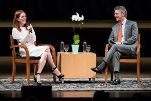 In conversation with Alexander Payne, Julianne Moore talks of her years in Nebraska, early acting struggles