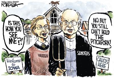 Jeff Koterba's latest cartoon: Can this Iowa couple work things out?