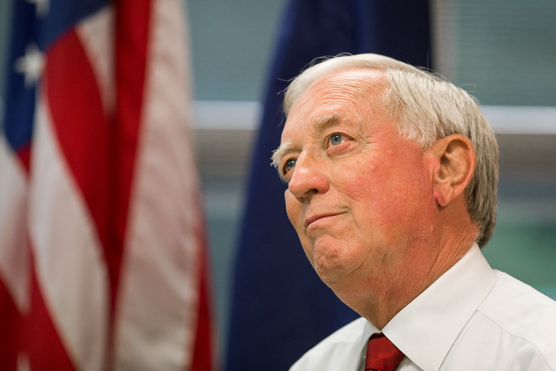 Ralston Mayor Don Groesser