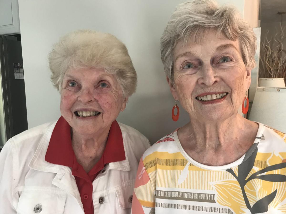Helen Plunkett and Joyce Lane