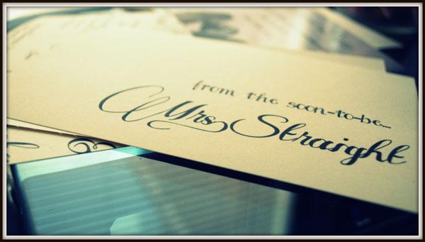 Bride Blogger // DIY Thank You Cards