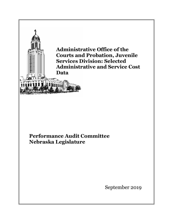 Juvenile Probation System Report