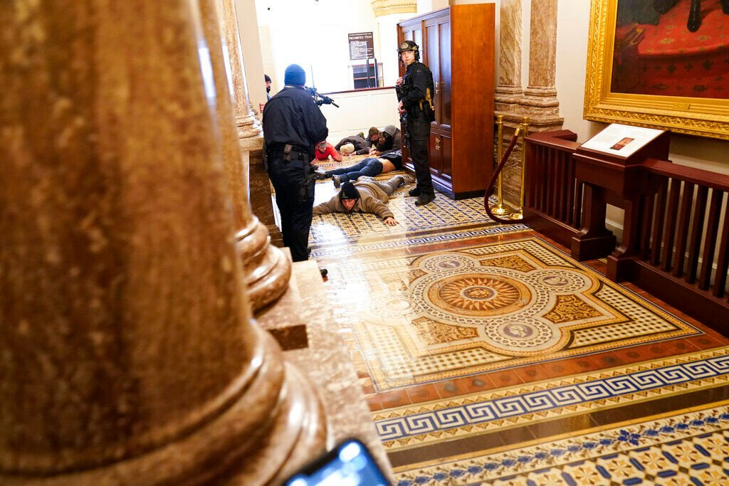 Nebraska elected officials call storming of U.S. Capitol 'disgraceful' and 'unacceptable'