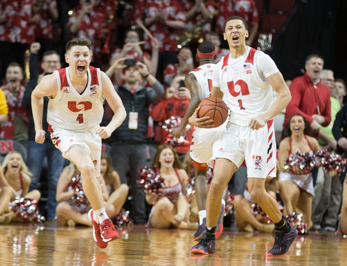 That was crazy': Down four starters, Husker men turn 16