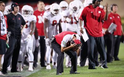 Nebraska coach Mike Riley