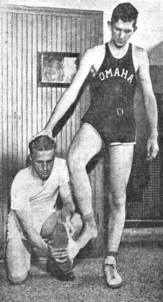 Al Randall and Cornie Collin