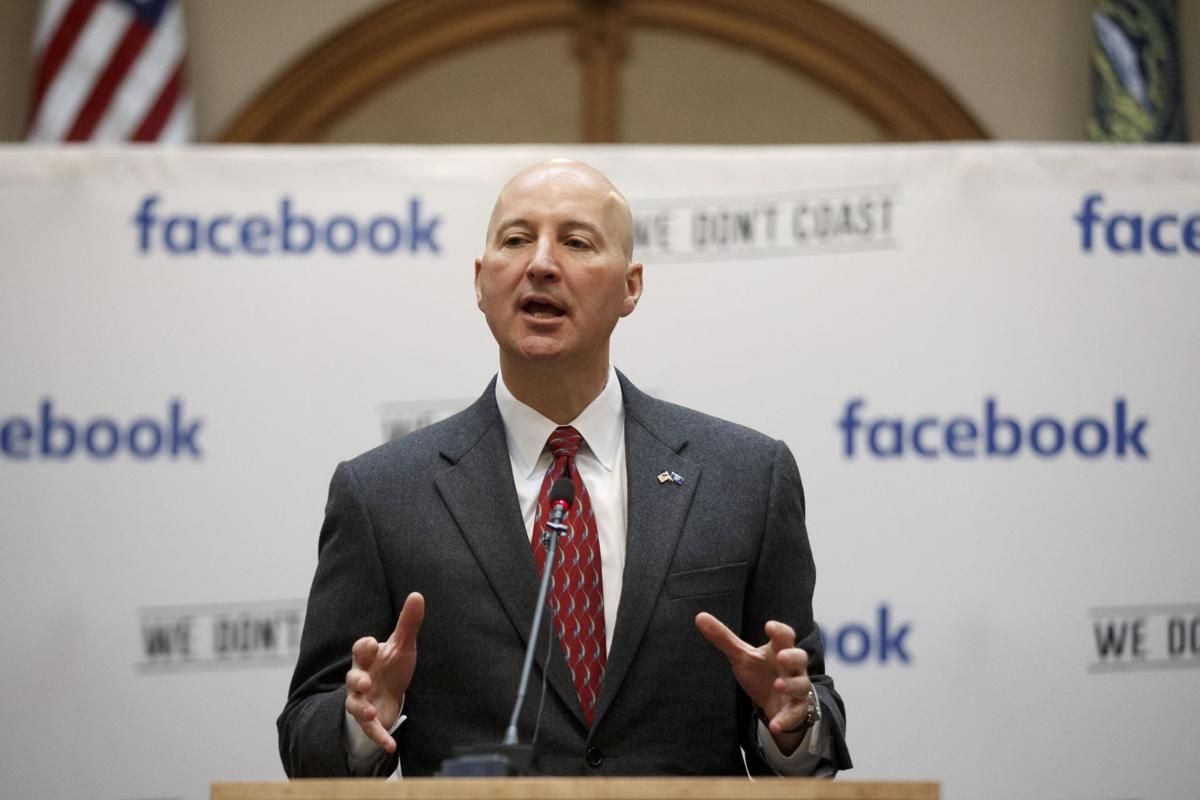 Ricketts at Facebook press conference
