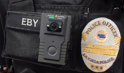 La Vista Police Department body camera SNI