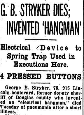Electrical hangman