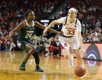 Husker women have five score in double digits in win over No. 24 Michigan State