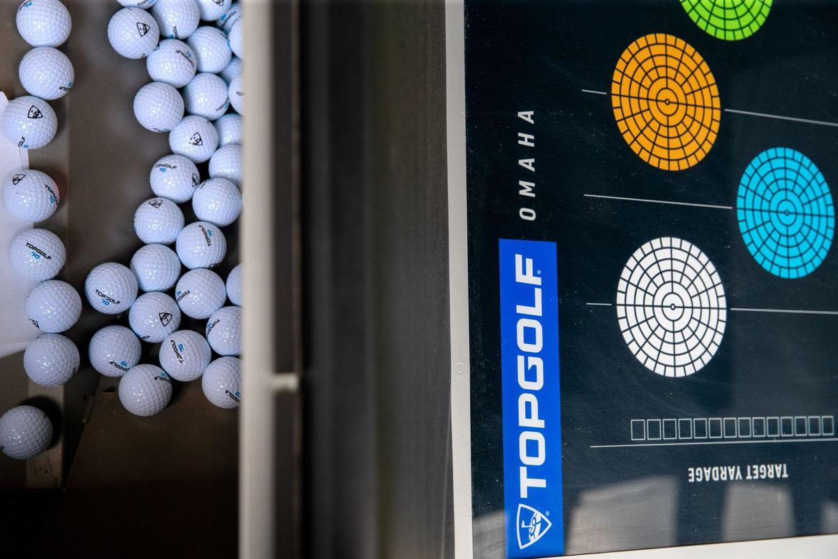 Topgolf ball machine.